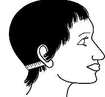 Head Measurement for Wig - Nape