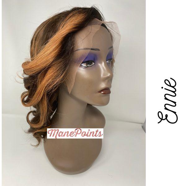 Ennie human hair wig