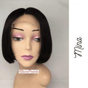 Mina human hair wigs