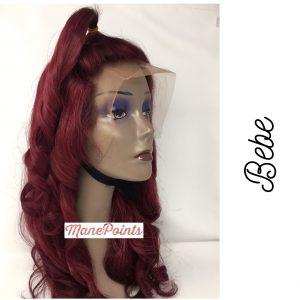 Bebe human wig for women